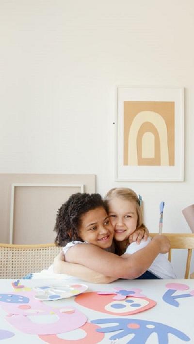 l'igiene e la cura personale dei bambini